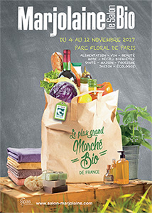 visuel affiche salon Marjolaine paris