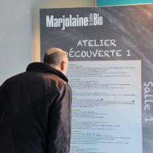Salon Marjolaine 2017 - atelier découverte 1