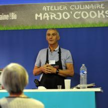 Salon Marjolaine 2017 - atelier culinaire marjo cooks