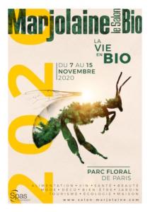 Affiche du salon Marjolaine 2020