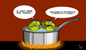 Le syndrome de la grenouille