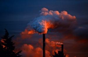 fumée d'usine
