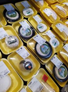 fromages suremballés